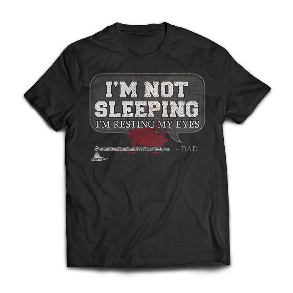 Viking, Norse, Gym t-shirt & apparel, I'm not sleeping, FrontApparel[Heathen By Nature authentic Viking products]Next Level Premium Short Sleeve T-ShirtBlackS