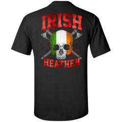 Viking, Norse, Gym t-shirt & apparel, Irish, BackApparel[Heathen By Nature authentic Viking products]Tall Ultra Cotton T-ShirtBlackXLT