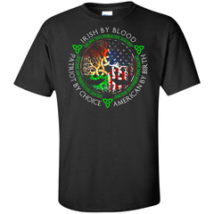 Viking, Norse, Gym t-shirt & apparel, Irish By Blood, FrontApparel[Heathen By Nature authentic Viking products]Tall Ultra Cotton T-ShirtBlackXLT