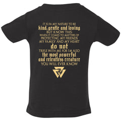 Viking, Norse, Gym t-shirt & apparel, It is in my nature, Double sidedApparel[Heathen By Nature authentic Viking products]