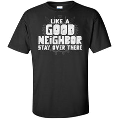 Viking, Norse, Gym t-shirt & apparel, Like a good neighbor, FrontApparel[Heathen By Nature authentic Viking products]Tall Ultra Cotton T-ShirtBlackXLT
