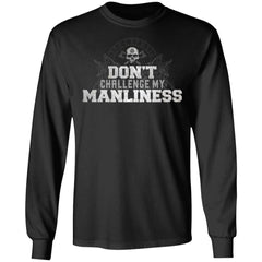Viking, Norse, Gym t-shirt & apparel, Manliness, FrontApparel[Heathen By Nature authentic Viking products]Long-Sleeve Ultra Cotton T-ShirtBlackS