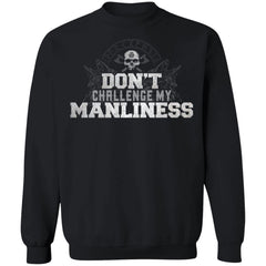 Viking, Norse, Gym t-shirt & apparel, Manliness, FrontApparel[Heathen By Nature authentic Viking products]Unisex Crewneck Pullover Sweatshirt 8 oz.BlackS