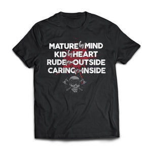 Viking, Norse, Gym t-shirt & apparel, Mature by mind, FrontApparel[Heathen By Nature authentic Viking products]Next Level Premium Short Sleeve T-ShirtBlackS