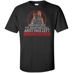 Viking, Norse, Gym t-shirt & apparel, My defense, Unsupervised, FrontApparel[Heathen By Nature authentic Viking products]Tall Ultra Cotton T-ShirtBlackXLT