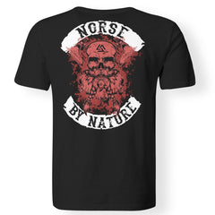 Viking, Norse, Gym t-shirt & apparel, Norse By Nature, BackApparel[Heathen By Nature authentic Viking products]Premium Men T-ShirtBlackS