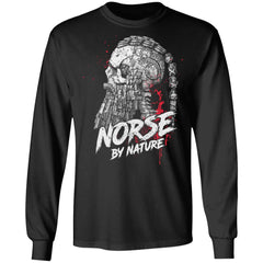 Viking, Norse, Gym t-shirt & apparel, Norse By Nature, FrontApparel[Heathen By Nature authentic Viking products]Long-Sleeve Ultra Cotton T-ShirtBlackS