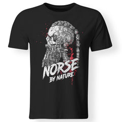 Viking, Norse, Gym t-shirt & apparel, Norse By Nature, FrontApparel[Heathen By Nature authentic Viking products]Premium Men T-ShirtBlackS