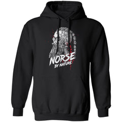 Viking, Norse, Gym t-shirt & apparel, Norse By Nature, FrontApparel[Heathen By Nature authentic Viking products]Unisex Pullover Hoodie 8 oz.BlackS