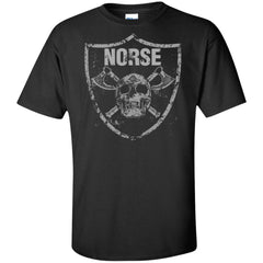 Viking, Norse, Gym t-shirt & apparel, Norse, FrontApparel[Heathen By Nature authentic Viking products]Tall Ultra Cotton T-ShirtBlackXLT