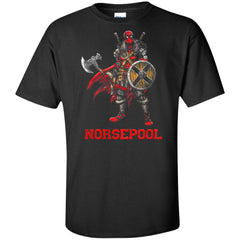 Viking, Norse, Gym t-shirt & apparel, Norsepool, FrontApparel[Heathen By Nature authentic Viking products]Tall Ultra Cotton T-ShirtBlackXLT