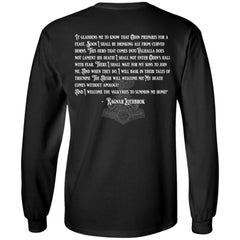 Viking, Norse, Gym t-shirt & apparel, Ragnar Lothbrok, Double sidedApparel[Heathen By Nature authentic Viking products]