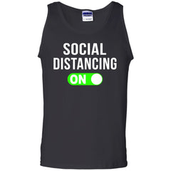 Viking, Norse, Gym t-shirt & apparel, Social Distancing, FrontApparel[Heathen By Nature authentic Viking products]Cotton Tank TopBlackS