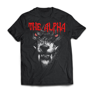 Viking, Norse, Gym t-shirt & apparel, The alpha, frontApparel[Heathen By Nature authentic Viking products]Next Level Premium Short Sleeve T-ShirtBlackX-Small
