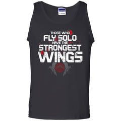 Viking, Norse, Gym t-shirt & apparel, The Strongest Wings, FrontApparel[Heathen By Nature authentic Viking products]Cotton Tank TopBlackS