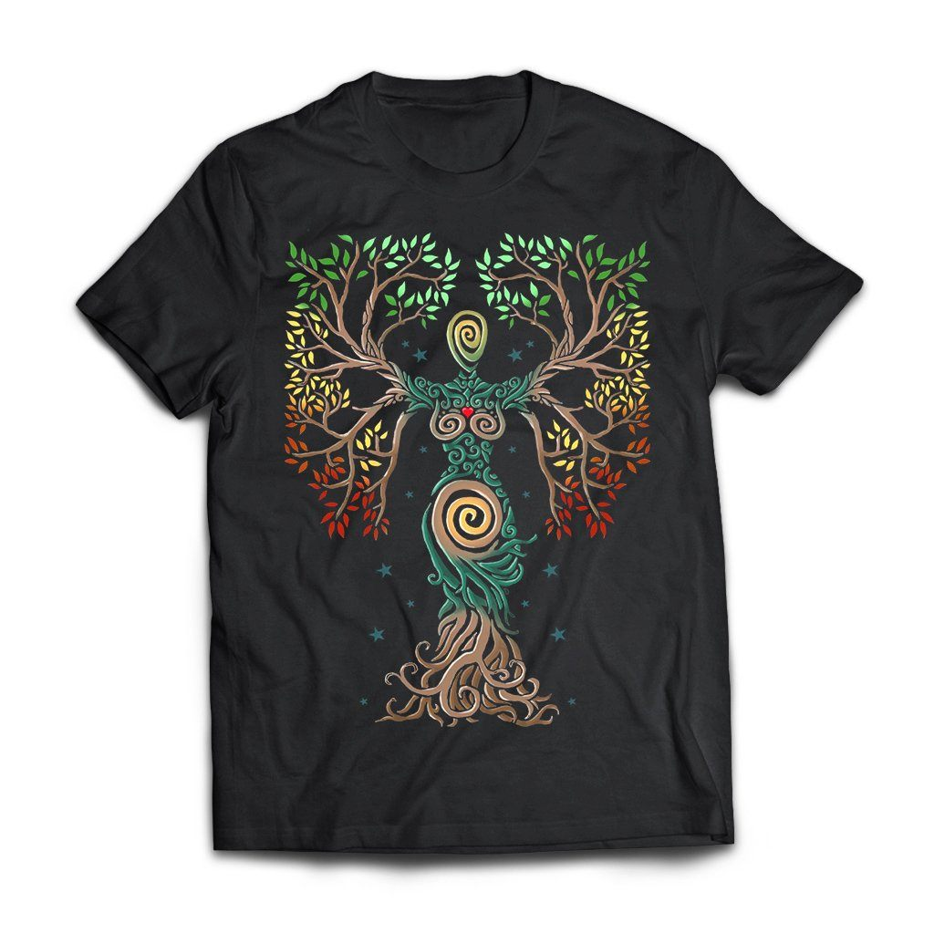 Viking, Norse, Gym t-shirt & apparel, The Tree Of Life, FrontApparel[Heathen By Nature authentic Viking products]Next Level Premium Short Sleeve T-ShirtBlackX-Small
