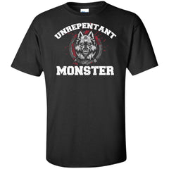 Viking, Norse, Gym t-shirt & apparel, Unrepentant Monster, FrontApparel[Heathen By Nature authentic Viking products]Tall Ultra Cotton T-ShirtBlackXLT