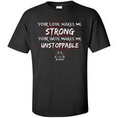 Viking, Norse, Gym t-shirt & apparel, Unstoppable, FrontApparel[Heathen By Nature authentic Viking products]Tall Ultra Cotton T-ShirtBlackXLT