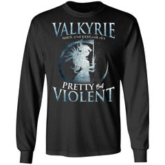 Viking, Norse, Gym t-shirt & apparel, Valkyrie, FrontApparel[Heathen By Nature authentic Viking products]Long-Sleeve Ultra Cotton T-ShirtBlackS
