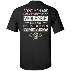 Viking, Norse, Gym t-shirt & apparel, Violence, BackApparel[Heathen By Nature authentic Viking products]Tall Ultra Cotton T-ShirtBlackXLT