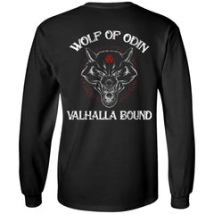 Viking, Norse, Gym t-shirt & apparel, Wolf Of Odin, Double sidedApparel[Heathen By Nature authentic Viking products]