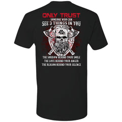 Viking T-shirt, trust, valknut, double sidedApparel[Heathen By Nature authentic Viking products]