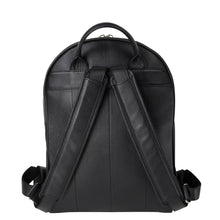 Load image into Gallery viewer, handmade luxury leather backpack back