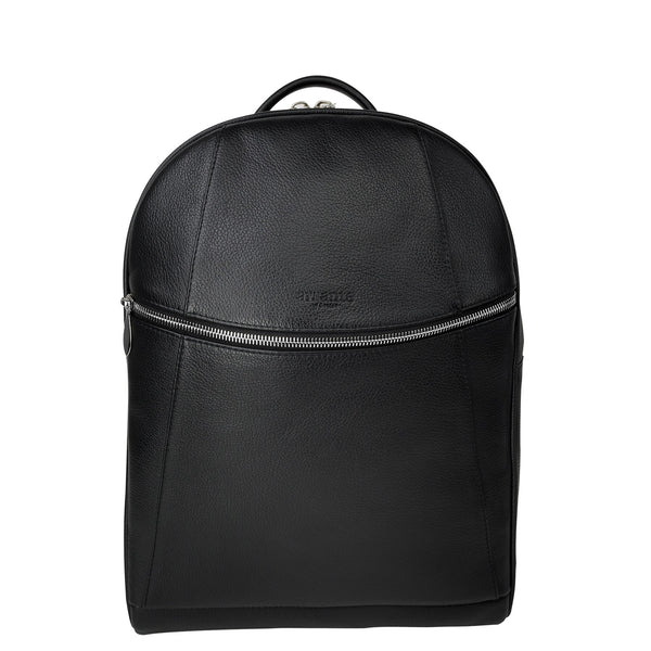 handmade luxury leather backpack front