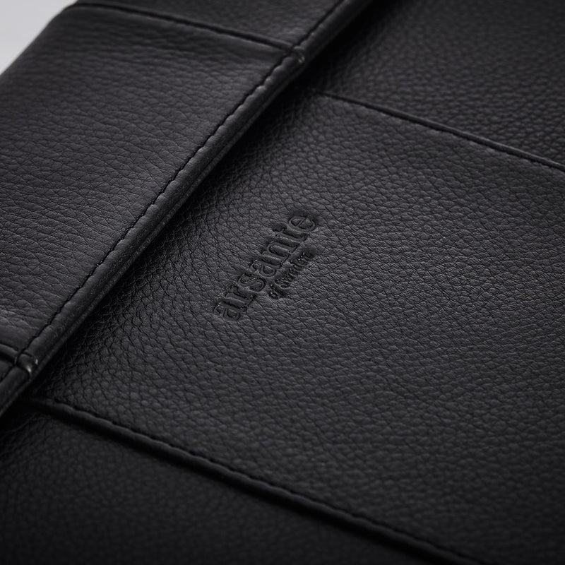 handmade luxury leather laptop imac sleeve logo