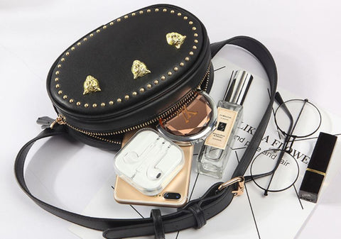 Trendy & Tested Studded Bum Bag (interior)