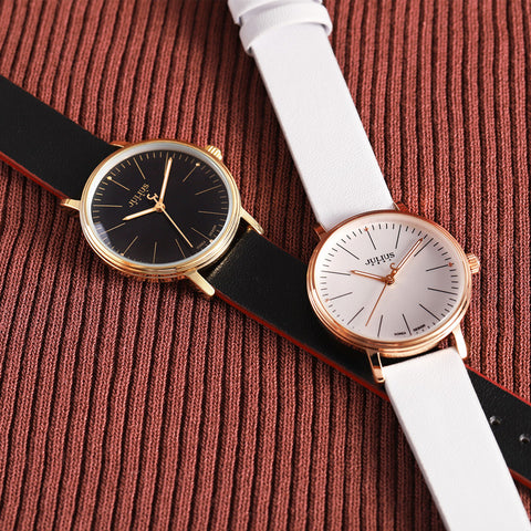 Trendy & Tested Round (The Minimalist Watch) - Genuine Leather Strap