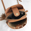 Side Tassels Bucket