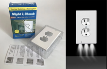 Load image into Gallery viewer, LED Outlet Wall-Plate Night Lights