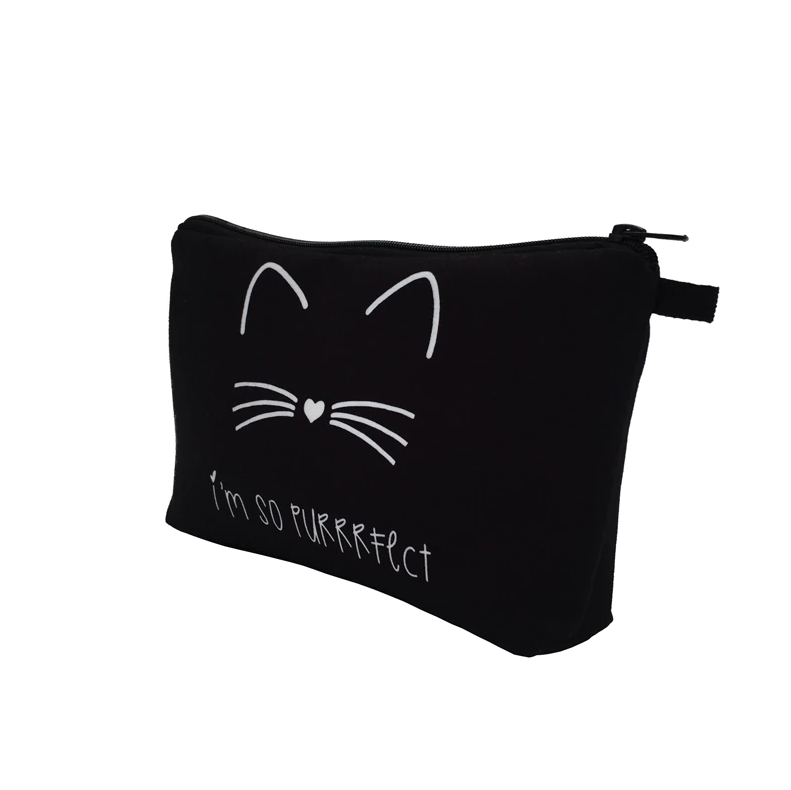 I'm So PURRRFECT Makeup Pouch