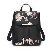 Load image into Gallery viewer, Floral Drawstring Backpack