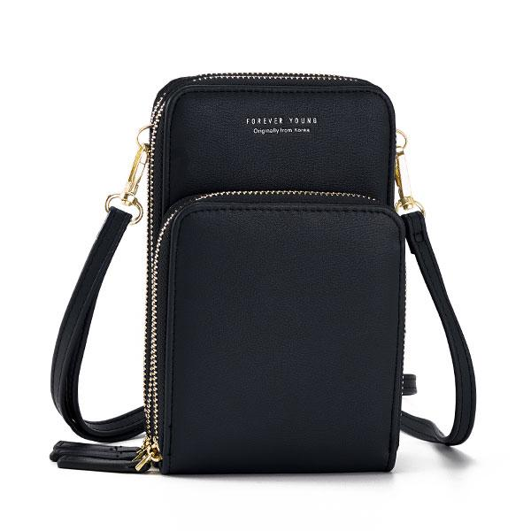 Multi-Pocket Crossbody