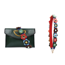 Load image into Gallery viewer, *Premium* Flower Shoulder Strap