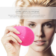 Load image into Gallery viewer, Sonic Silicone Facial Cleansing Device