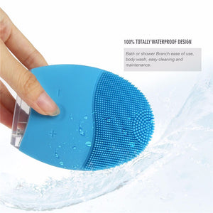 Sonic Silicone Facial Cleansing Device