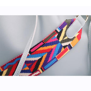 Tribal Bucket Tie Bag