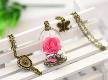 Load image into Gallery viewer, Enchanted Rose Necklace *Mirror Charm*