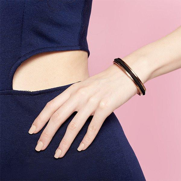 Hair Tie Cuff Bangle
