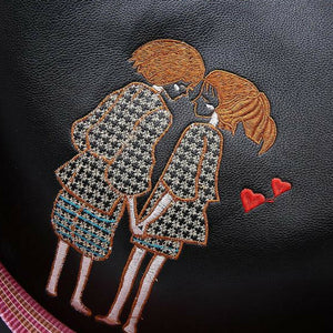 Lovers Pattern Backpack