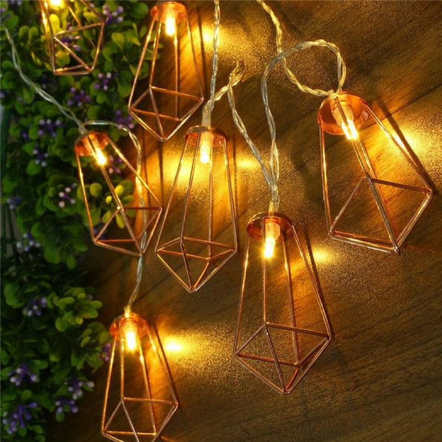 Copper Pendant Fairy Lights