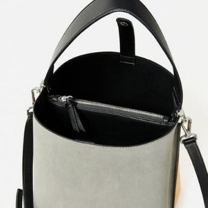 Serene Bi-colour Leather Tote