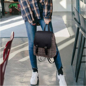 Gingham Backpack