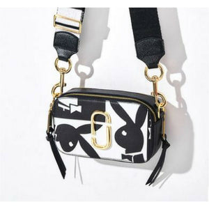 Graffiti Camera Bag (Genuine Leather)