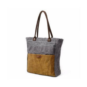 Oil Waxed Tote