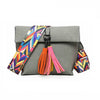 Tribal Tassels Crossbody Bag