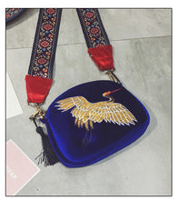 Load image into Gallery viewer, Mini Velvet Crossbody